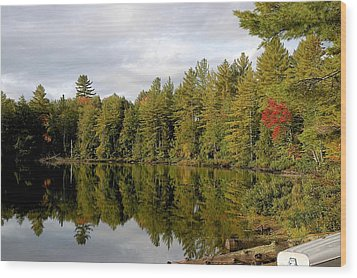 Coming Wood Print by Joseph Yarbrough