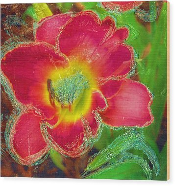 Coming To Life Wood Print by Anne-Elizabeth Whiteway