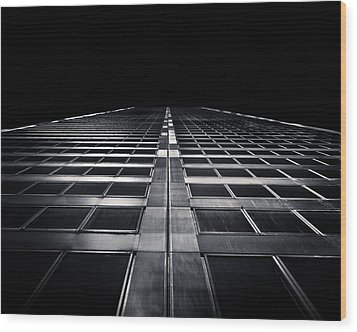 Wood Print featuring the photograph Commerce Court West 1 by Brian Carson