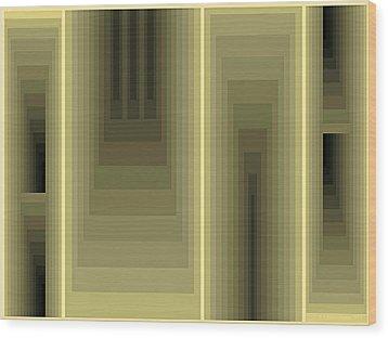 Composition 80 Wood Print
