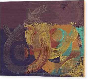 Composix - 164164100a2t1 Wood Print by Variance Collections
