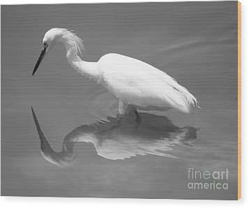 Concentration Wood Print by Carol Groenen