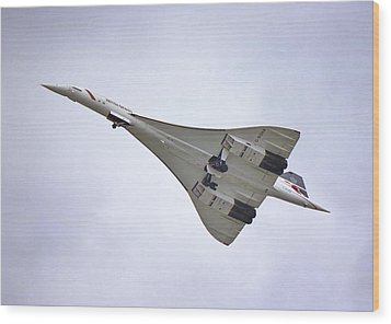 Concorde 02 Wood Print by Paul Gulliver