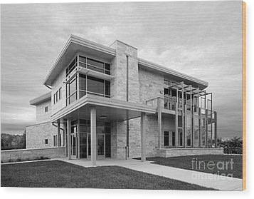 Concordia University Environmental Stewardship Center Wood Print by University Icons