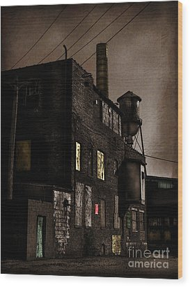 Condemned Wood Print by Colleen Kammerer
