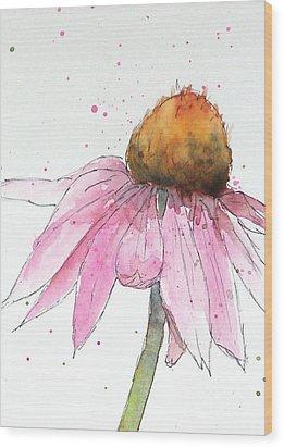 Coneflower 1 Wood Print