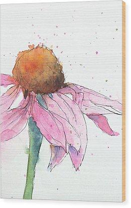 Coneflower 2 Wood Print
