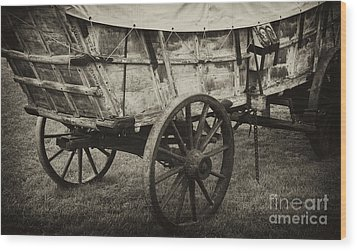 Conestoga Wagon Wood Print by Paul W Faust -  Impressions of Light