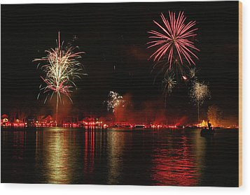 Conesus Ring Of Fire Wood Print