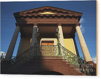 Confederate Museum Wood Print by John Rizzuto