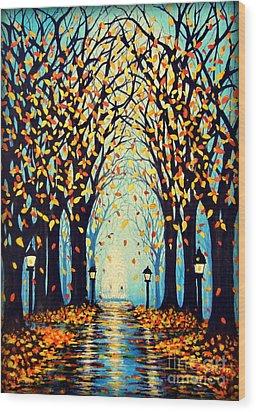 Confetti Wood Print