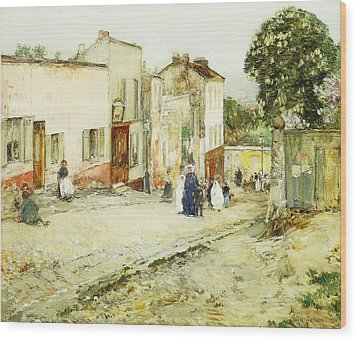 Confirmation Day Wood Print by Childe Hassam