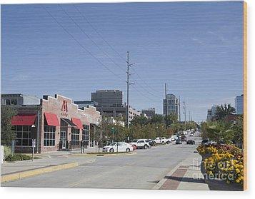 Congaree Vista District In Columbia South Carolina Wood Print