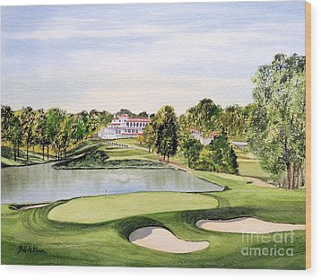 Congressional Golf Course 10th Hole Wood Print