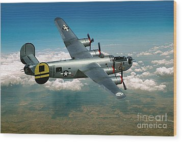 Consolidated B-24 Liberator Wood Print