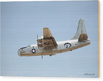 Consolidated Pb4y-2 Privateer  Wood Print