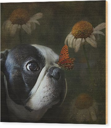Wood Print featuring the photograph Constant Companion by Kathleen Holley