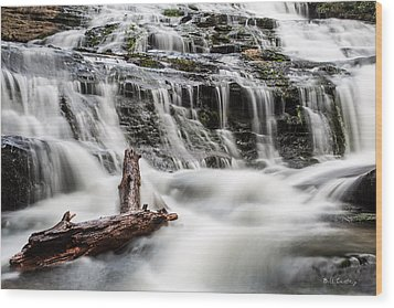 Constant Flow Wood Print by Bill Cantey