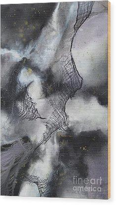 Constellation Wood Print by Deborah Ronglien