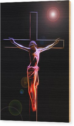 Consummatum Est Wood Print by Steve K