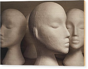 Wood Print featuring the photograph Contemplation by Jeff  Gettis