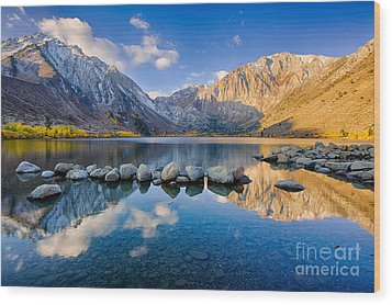 Convict Lake 2 Wood Print