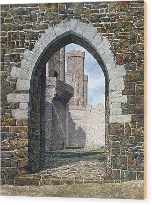Conwy Gate Wood Print