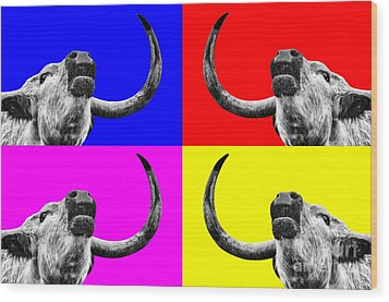 Coo Pop Art Too Wood Print by John Farnan