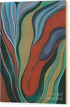 Cool Ascension Wood Print
