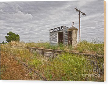 Coonawarra Station South Australia Wood Print by Colin and Linda McKie