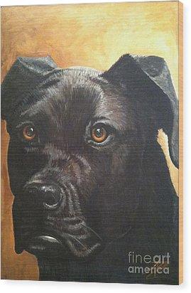 Cooper Wood Print