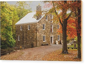 Cooper Gristmill Wood Print