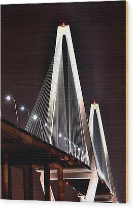 Cooper River Bridge  Wood Print