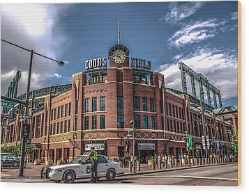 Colorado Rockies Wood Print