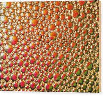 Copper Reflections Wood Print