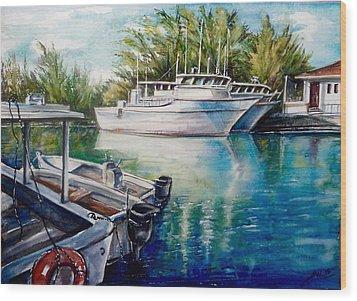 Coral Harbour 3 Wood Print