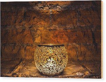 Core Wood Print by Tgchan