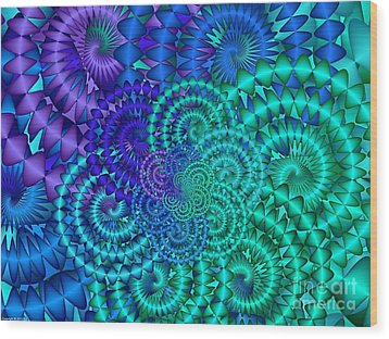 Coriolis Wood Print