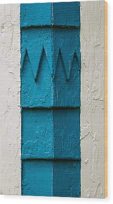 Corner Detail Wood Print