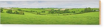 Cornwall Panorama Color Wood Print
