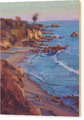 Corona Del Mar Newport Beach California Wood Print