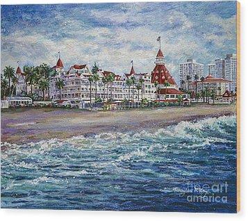 Coronado Shores Wood Print