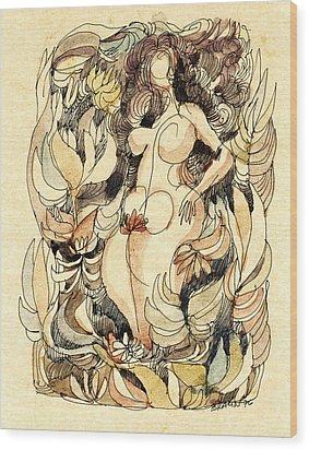 Corpulence Wood Print by Horst Braun