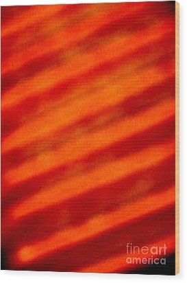 Corrugated Orange Wood Print by Tim Townsend