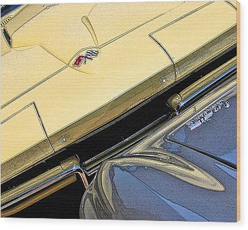 Wood Print featuring the photograph Corvette Edges by Christopher McKenzie