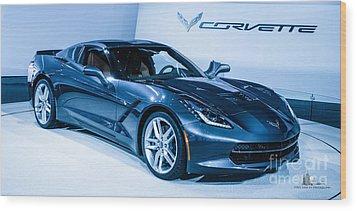 Corvette Stingray Wood Print