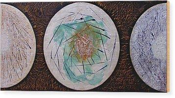 Cosmic Carrilon Chime Wood Print