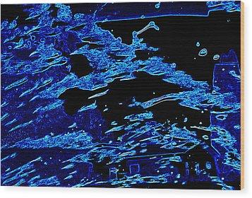 Cosmic Series 001 Wood Print