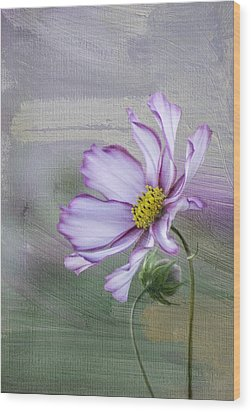 Cosmo Of The Garden Wood Print by Kristal Kraft