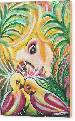 Costa Rica Wood Print by Anya Heller